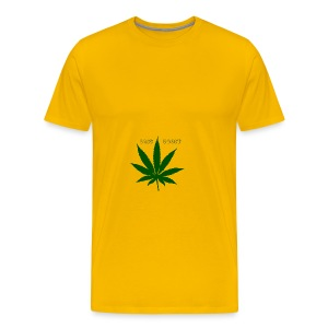 Bass Boost 420 Weed Leaf - Men's Premium T-Shirt