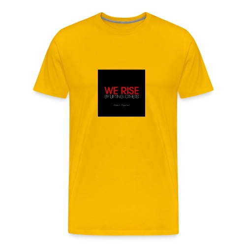 We rise - Men's Premium T-Shirt