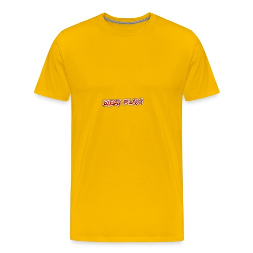 SABAS PLAYS - Men's Premium T-Shirt