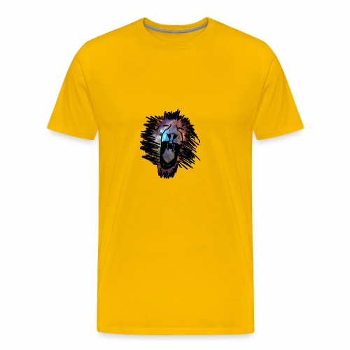 Galaxy Lion - Men's Premium T-Shirt