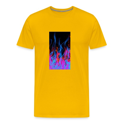 The flame. - Men's Premium T-Shirt