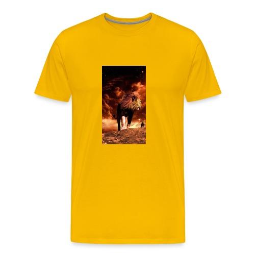 Lion 8777b6f7 3f7c 3f0f b84f 7dd7d3e9c75c - Men's Premium T-Shirt