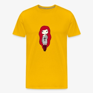 TheLavaGirl - Men's Premium T-Shirt