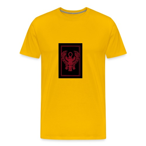 Heru- Horus (Ancient Mystery School KMT) - Men's Premium T-Shirt