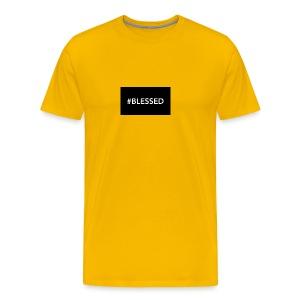 #blessed - Men's Premium T-Shirt