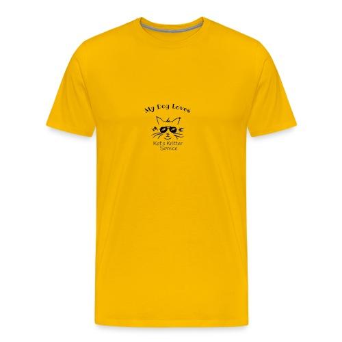Dog Black - Men's Premium T-Shirt
