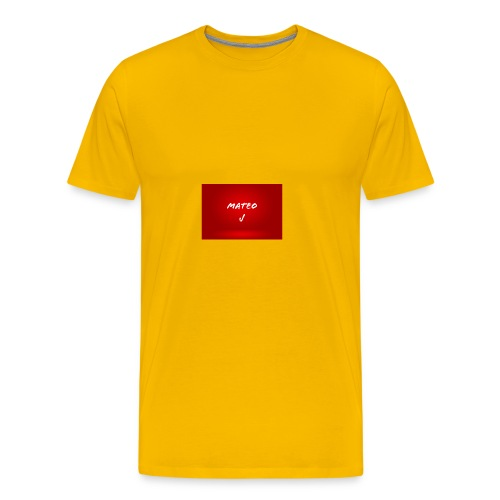 Mateo J - Men's Premium T-Shirt