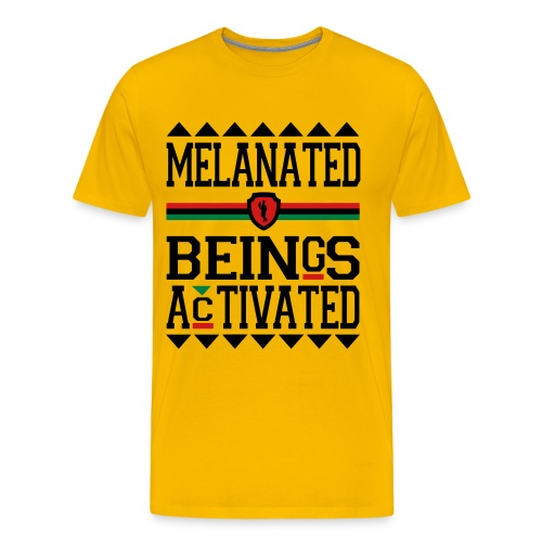 MELANATED BEINGS-MEN - Men's Premium T-Shirt