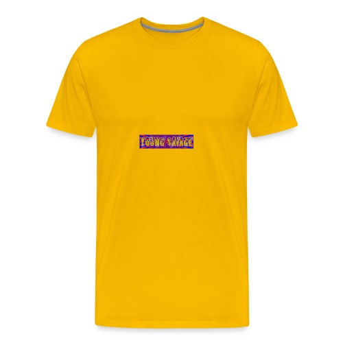 Young Savage merch - Men's Premium T-Shirt