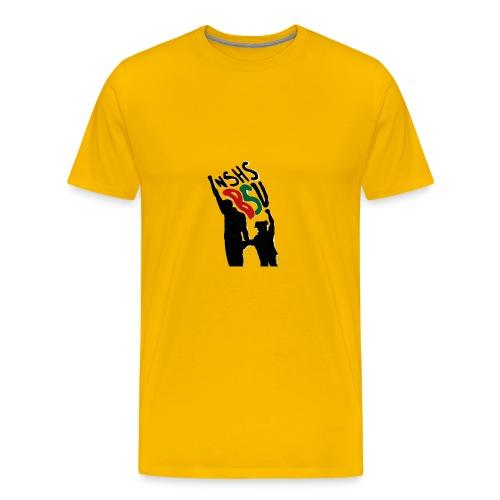 Silhouette Fists - Men's Premium T-Shirt