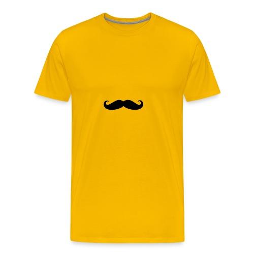 mustache - Men's Premium T-Shirt