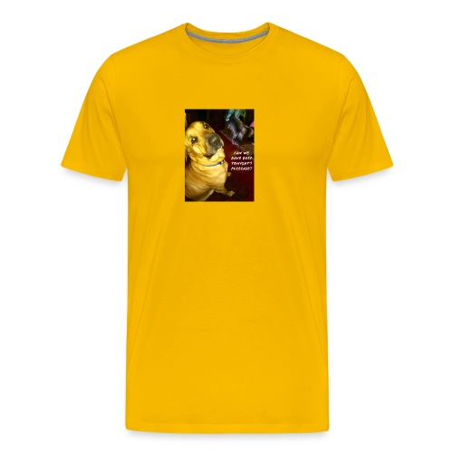 Her Thoughts - Men's Premium T-Shirt