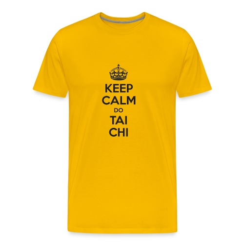 Keep Calm do Tai Chi - Men's Premium T-Shirt