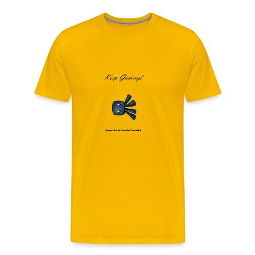 Keep Gaming! - Men's Premium T-Shirt