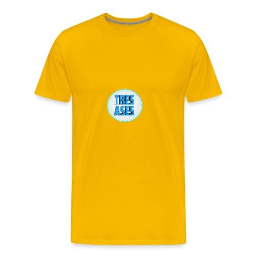tres ases - Men's Premium T-Shirt