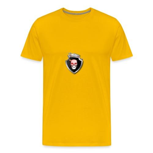 DeathKnightLogo - Men's Premium T-Shirt
