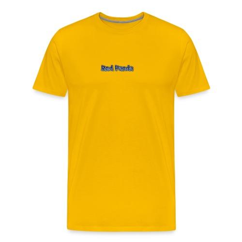 red panda words - Men's Premium T-Shirt