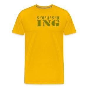 SMASHing - Men's Premium T-Shirt