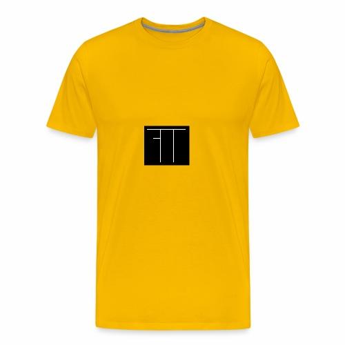 Funny Twin Logo - Men's Premium T-Shirt