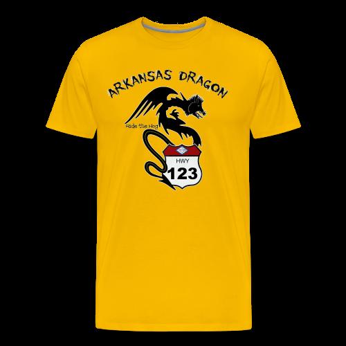 The Arkansas Dragon T-Shirt - Men's Premium T-Shirt