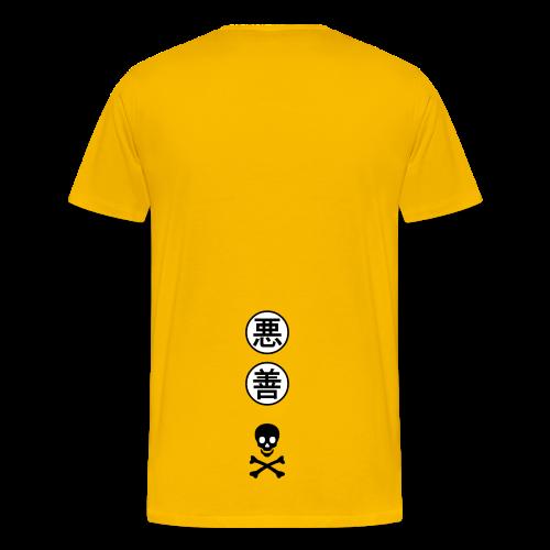 Japanese Skull Draco - Men's Premium T-Shirt