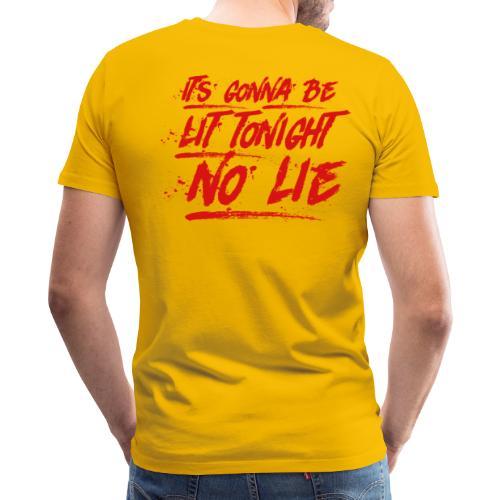 Baywatch soundtrack No Lie - Men's Premium T-Shirt