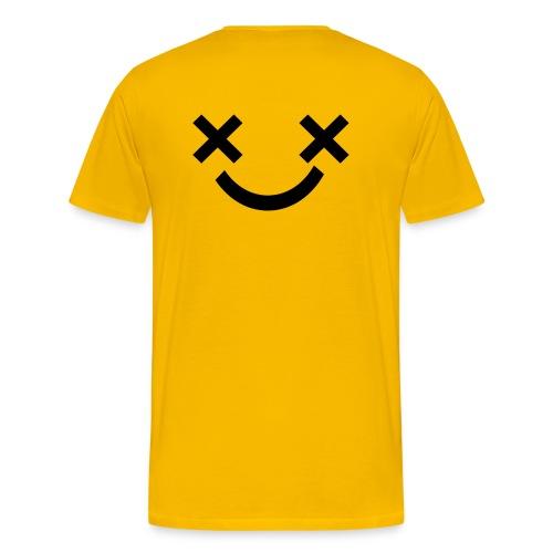 X Eyes Face Design - Men's Premium T-Shirt
