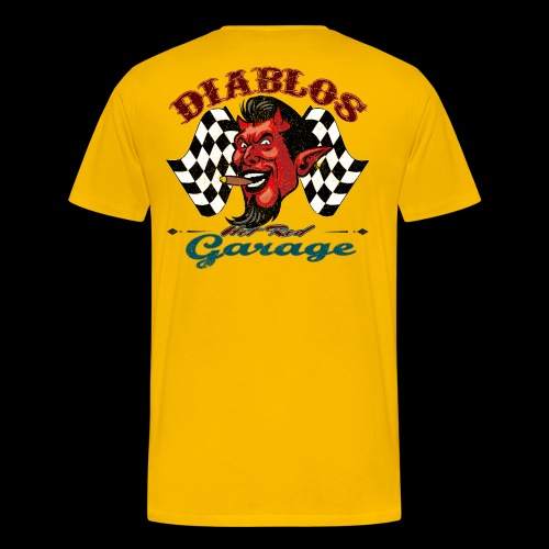Diablos Hot Rod Garage - Men's Premium T-Shirt
