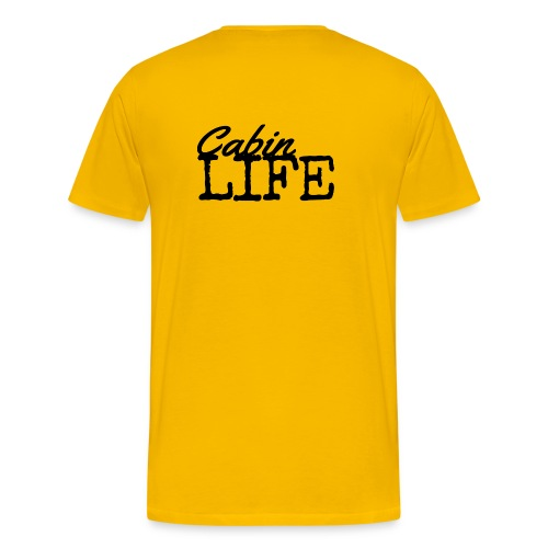 Cabin Life by Ellaland - Men's Premium T-Shirt