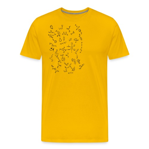 Organic chemistry design 5 - Men's Premium T-Shirt