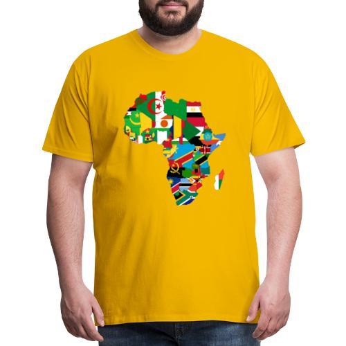 United Africa - Proud Africans - Africa Alliance - Men's Premium T-Shirt