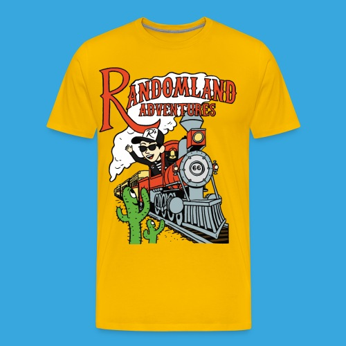 Randomland Railroad - Men's Premium T-Shirt
