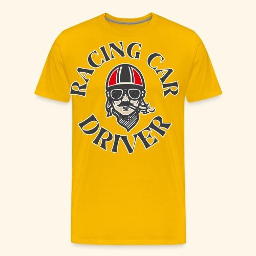 Racing Car Driver - Men's Premium T-Shirt