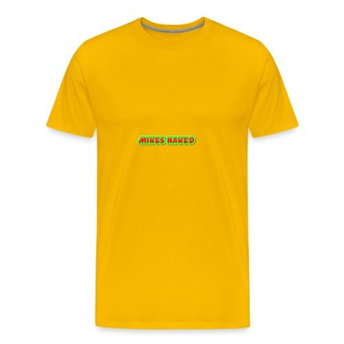 mikes naked - Men's Premium T-Shirt