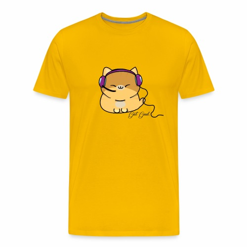 Getgud Gamer Kitty Mug - Men's Premium T-Shirt