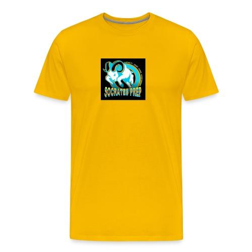 Soc Prep Ram Logo (1) - Men's Premium T-Shirt