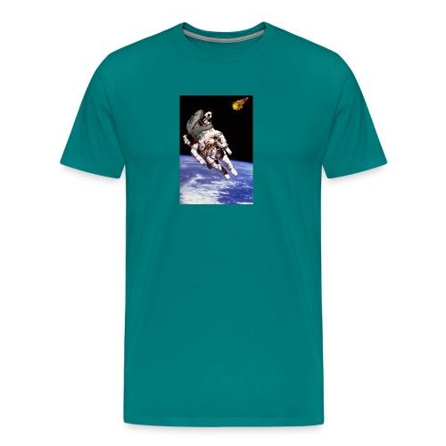 how dinos died - Men's Premium T-Shirt