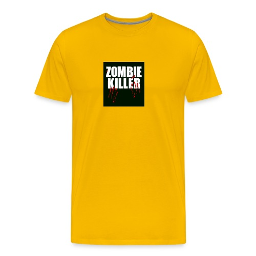 zombie killer shirt green - Men's Premium T-Shirt
