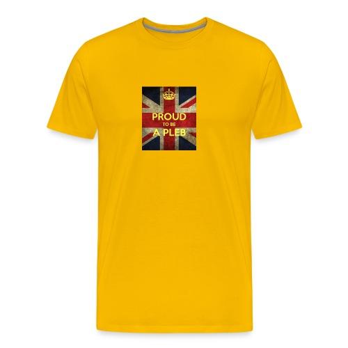 proud-to-be-a-pleb - Men's Premium T-Shirt