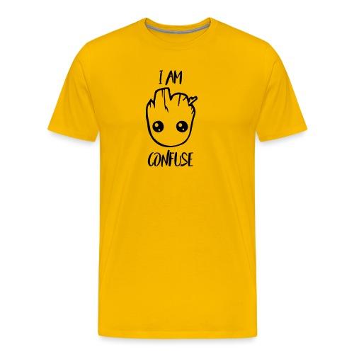 I Am Confuse Head - Men's Premium T-Shirt