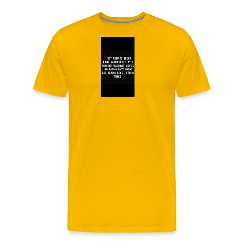 fullsizeoutput 15a3 Naked days - Men's Premium T-Shirt