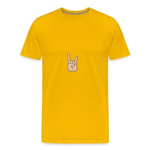 CLOTTHO ROCK HAND - Men's Premium T-Shirt