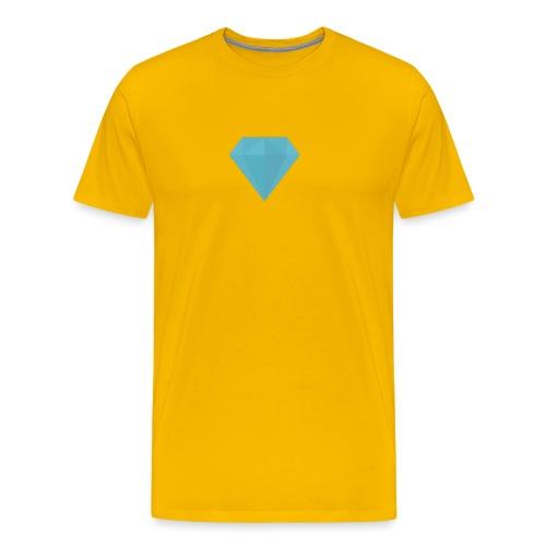 long sleeve Diamond shirt - Men's Premium T-Shirt