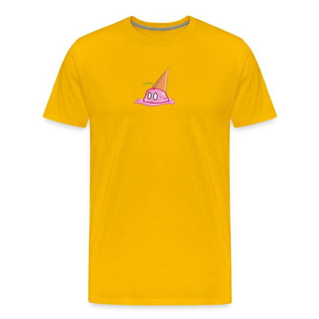 Ice Cream Smiley Face T-Shirt