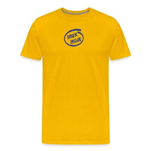 linux inside - Men's Premium T-Shirt