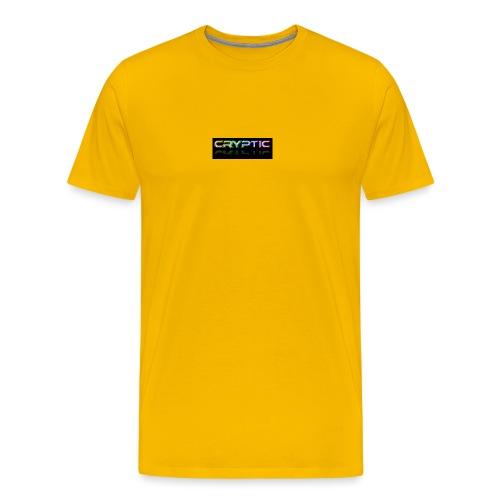 Cryptic Bonus Logo - Men's Premium T-Shirt