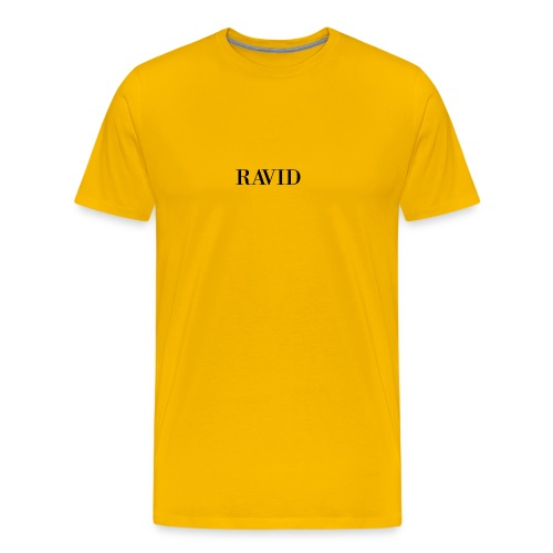 ravid_logo_black - Men's Premium T-Shirt