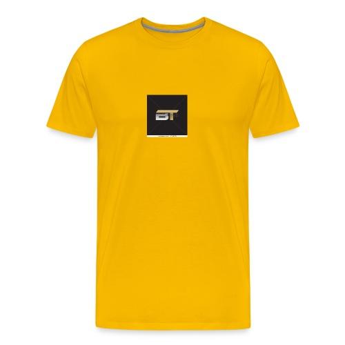 BT logo golden - Men's Premium T-Shirt