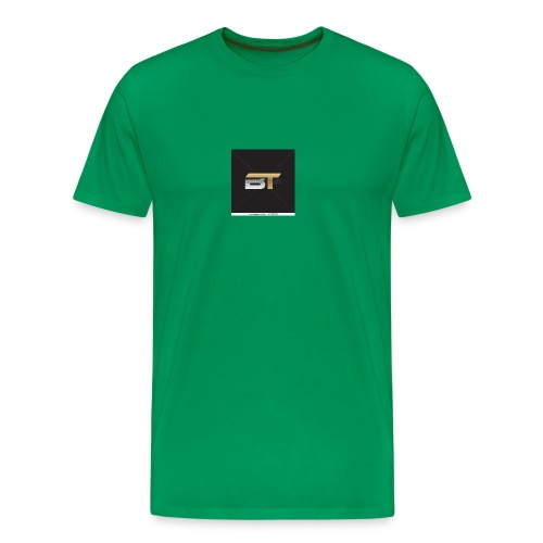 BT logo golden - Men's Premium T-Shirt