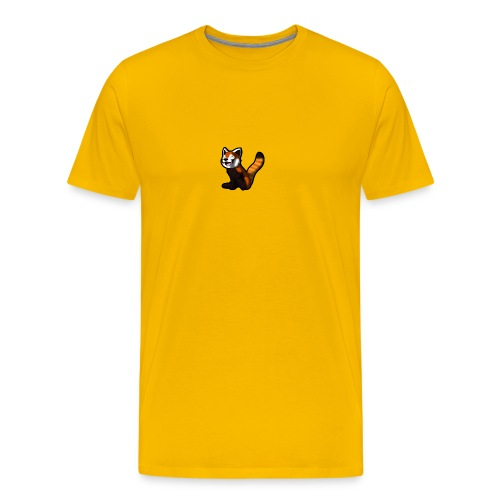 red panda logo - Men's Premium T-Shirt